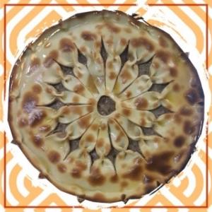 Пирог с говядиной на тонком тесте (1000 гр)