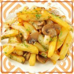 Жареный картофель «От тетушки Нино»