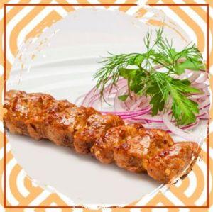 Люля–кебаб из курицы с зеленью