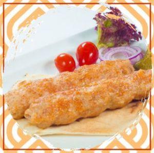 Люля–кебаб из курицы с сыром