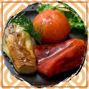 Ассорти из овощей на мангале
