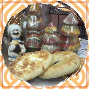 Мини хачапури с домашним сыром